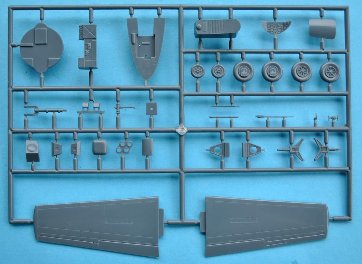 Eduard-8079-Bell-X-1-Machbuster-25 Eduard X-1 Mach Buster 8079