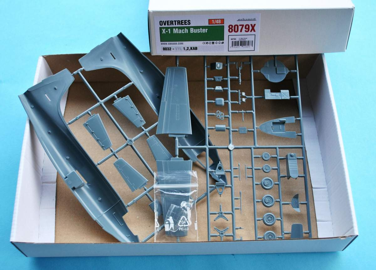 Eduard-8079-Bell-X-1-Machbuster-OVERTREE Eduard X-1 Mach Buster 8079