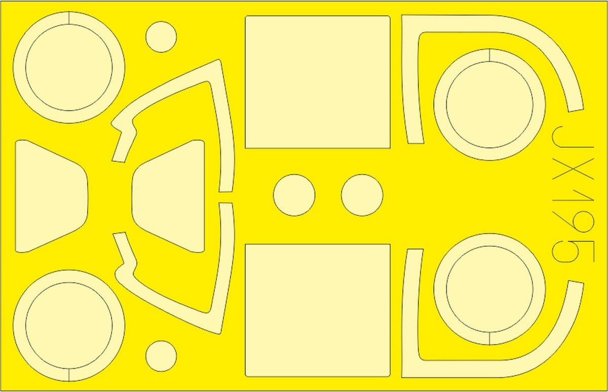 eduard zubeh r f r die jak 3 von special hobby 1 32. Black Bedroom Furniture Sets. Home Design Ideas