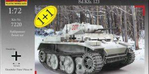 """Panzer II Ausf. L """"Luchs"""" in 1:72 von MACO ( # 7220 )"""