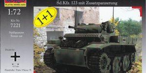 """Panzer II Ausf. L """"Luchs"""" mit Zusatzpanzerung von MACO ( # 7221)"""