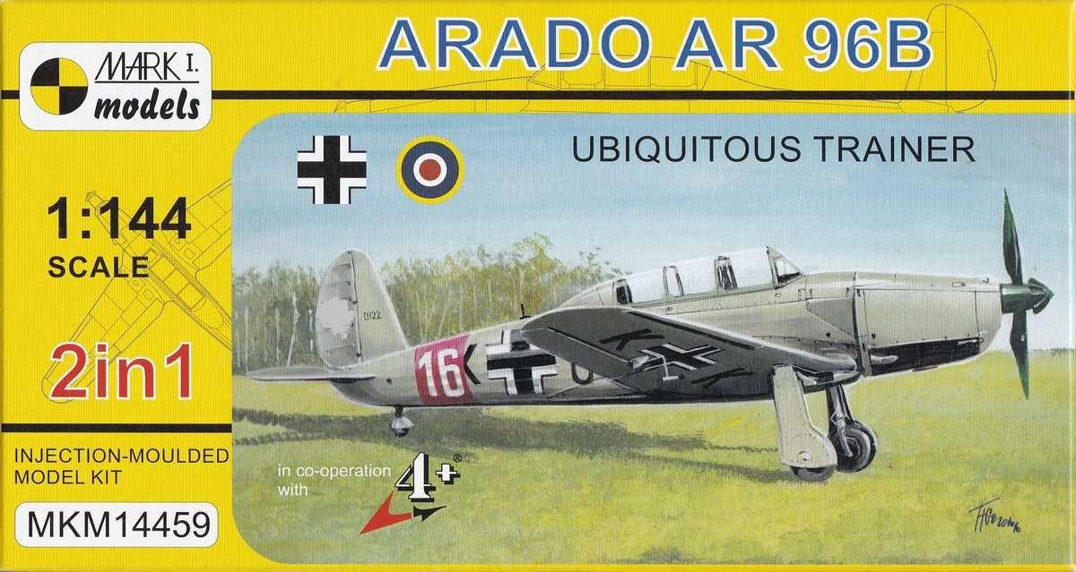 Mark-I-Models-Ar-96B-Ubiquitous-trainer-1 Arado Ar 96B und Avia C.2 von Mark I Models in 1:144