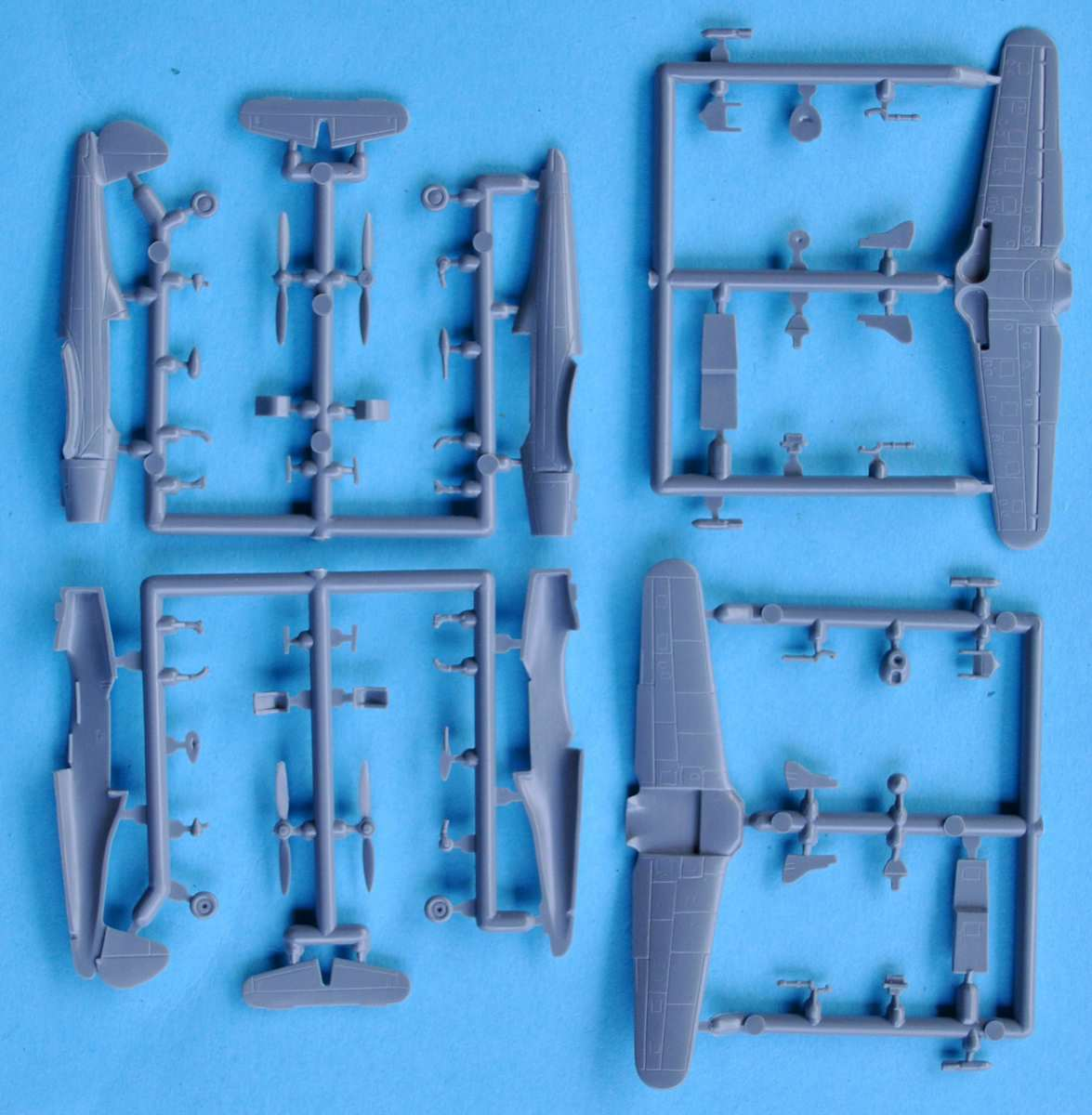 Mark-I-Models-Arado-Ar-96-6 Arado Ar 96B und Avia C.2 von Mark I Models in 1:144