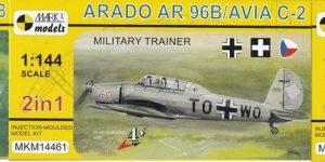 Arado Ar 96B und Avia C.2 von Mark I Models in 1:144