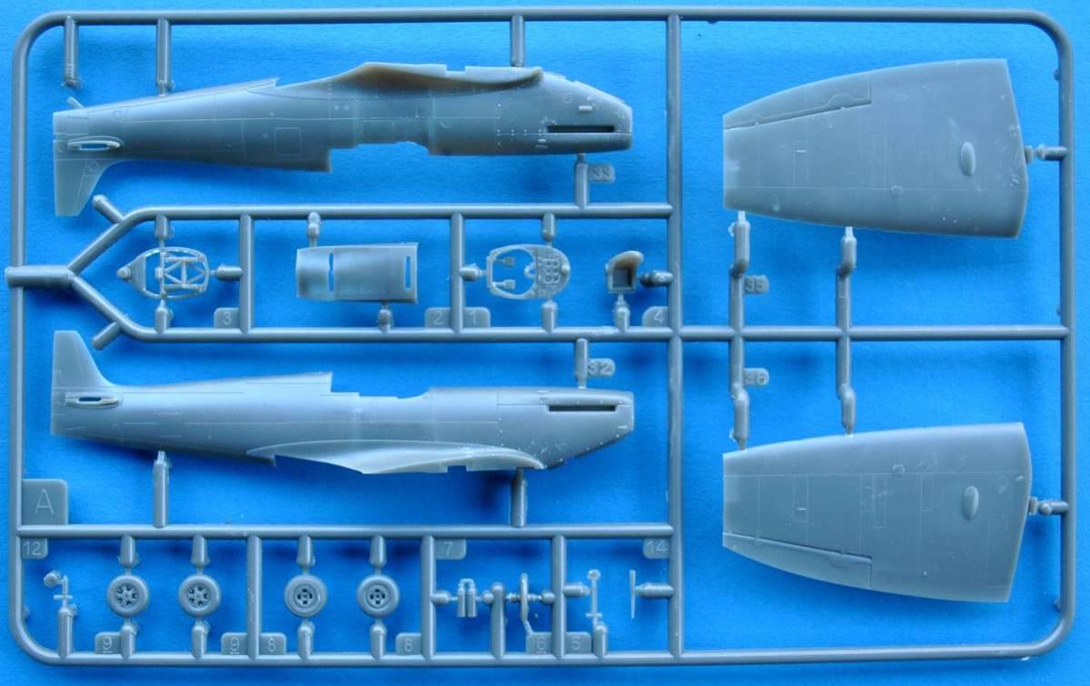 Revell-03953-Spitfire-Mk.-II-1zu72-9 Spitfire Mk. II von Revell in 1:72 Testshot