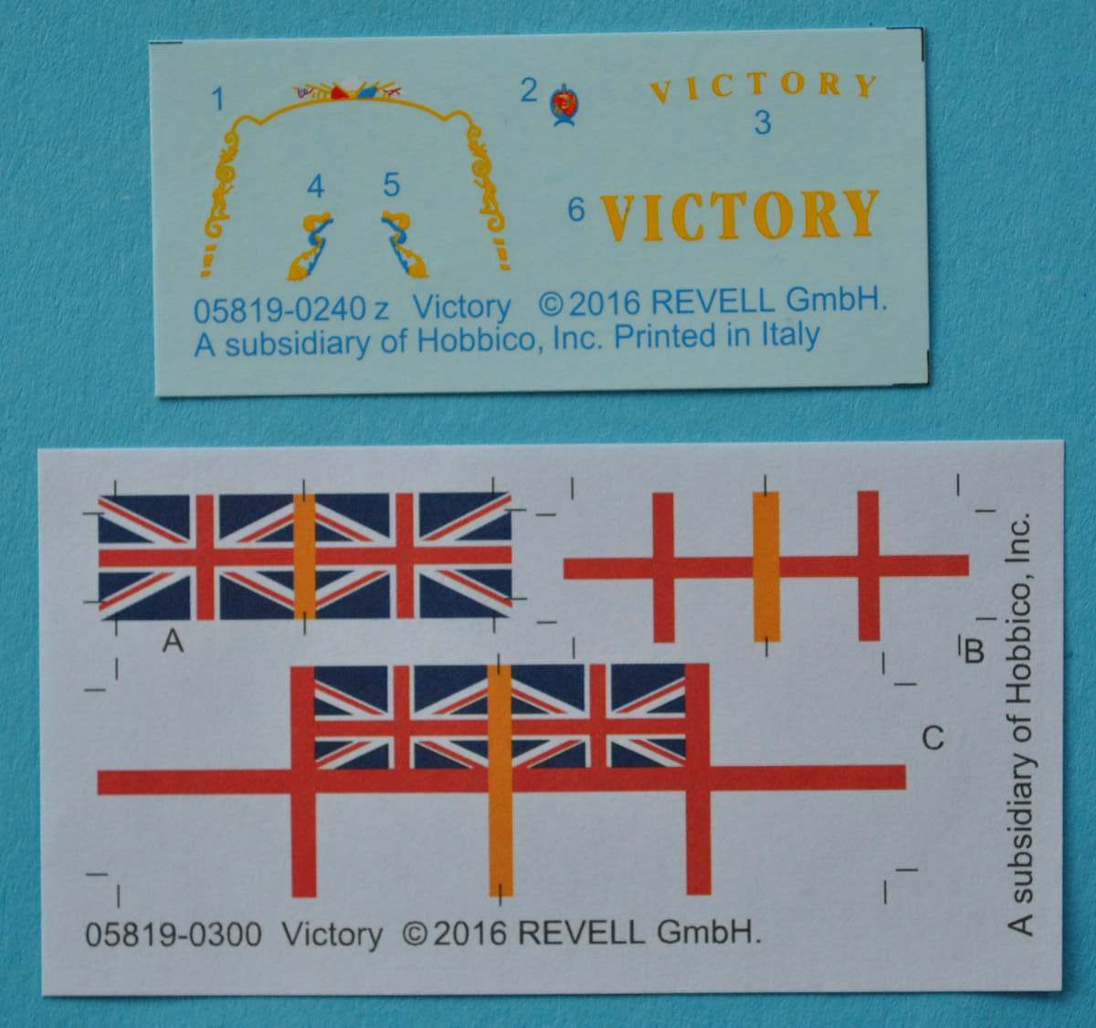 Revell-05819-HMS-Victory-19 Admiral Nelson´s Flagship HMS Victory (Revell 1:450 # 05819 9