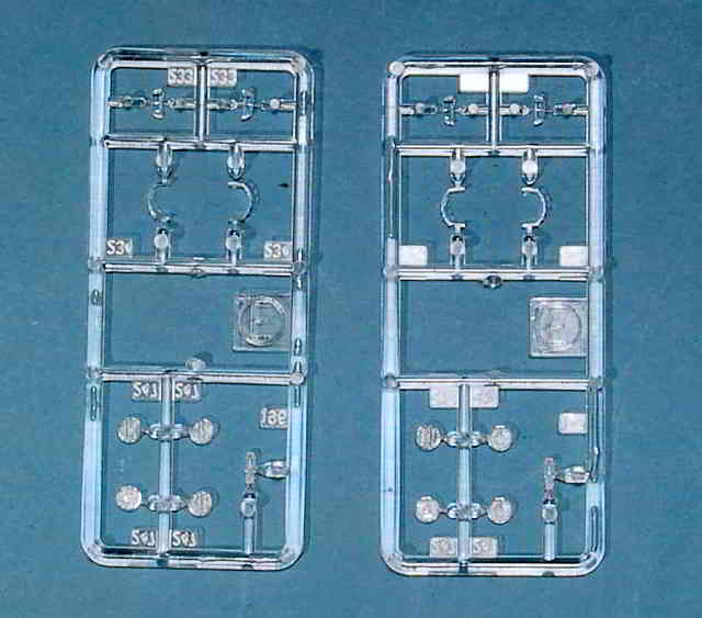 04_Spritzling_E_Klarsicht Bismarck Platinum Edition von Revell 1:350