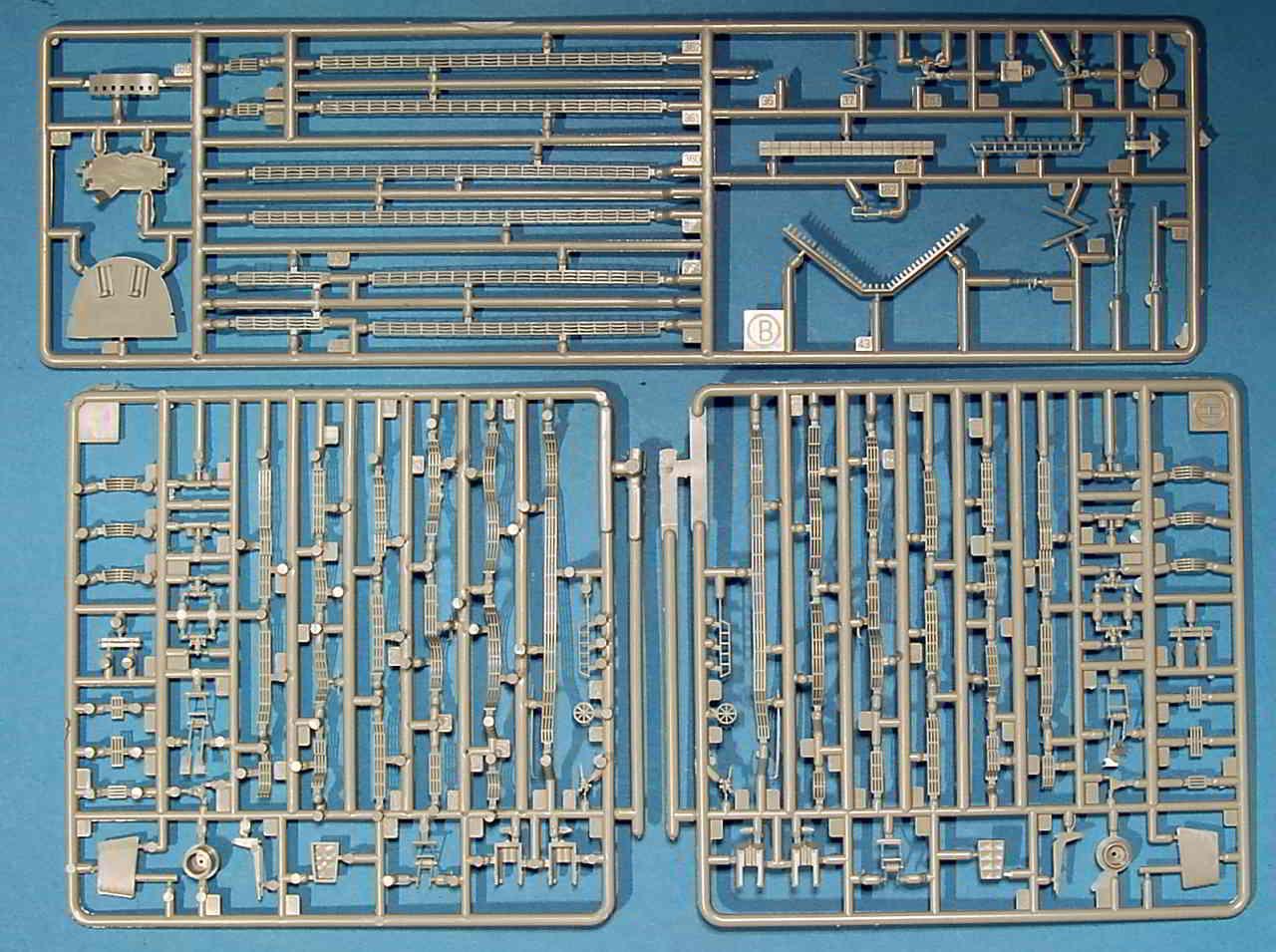 06_Spritzling_H_B Bismarck Platinum Edition von Revell 1:350