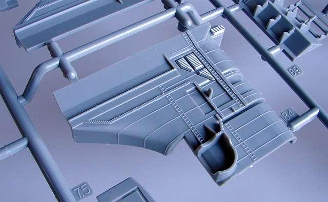 09_Schornsteindetails Bismarck Platinum Edition von Revell 1:350