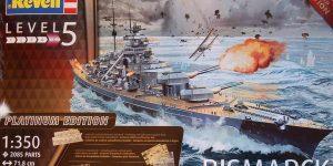 Bismarck Platinum Edition von Revell 1:350