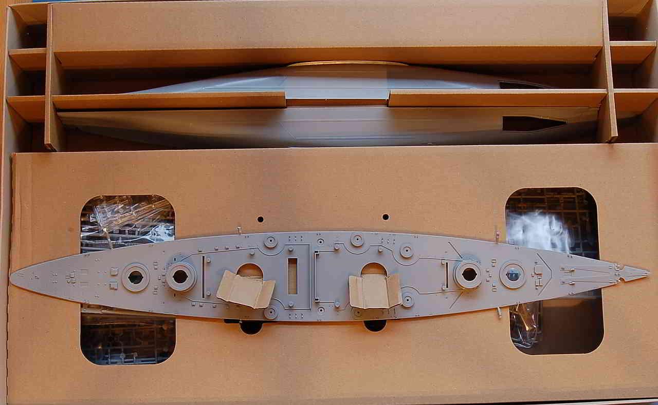 22_Karton_inhalt Bismarck Platinum Edition von Revell 1:350