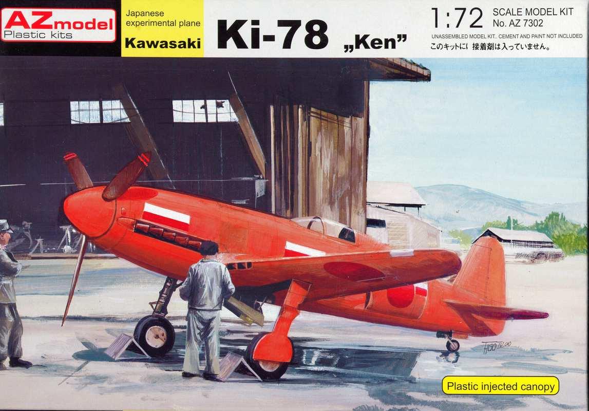 """AZModel-7302-Ki-78-11 Kawasaki Ki-78 """"Ken"""" von AZ Model 1:72 ( 7302 )"""