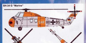 """SAR-Hubschrauber """"SH-34G Marine"""" von Airpower87 by ArsenalM"""