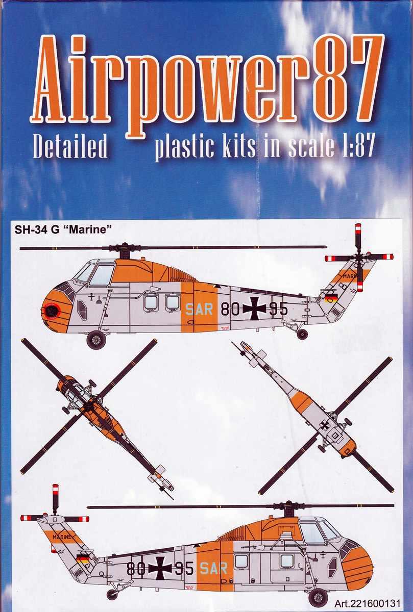 """Airpower87-221600131-SH-34G-Marine-SAR-3 SAR-Hubschrauber """"SH-34G Marine"""" von Airpower87 by ArsenalM"""