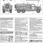 Anleitung10-150x150 U.S. 2 1/2TON 6x6 Airfield Fuel Truck 1:48 Tamiya (32579)
