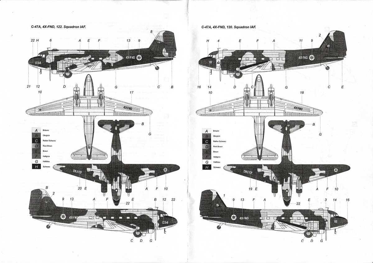 ArsenalM-227700011-C-47-IAF-12 Douglas C-47 Israelische Luftwaffe (ArsenaM 227700011) im Maßstab 1:87