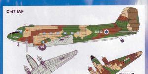 Douglas C-47 Israelische Luftwaffe (ArsenaM 227700011) im Maßstab 1:87