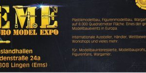 Die Euro Model Expo in Lingen 25./26. März