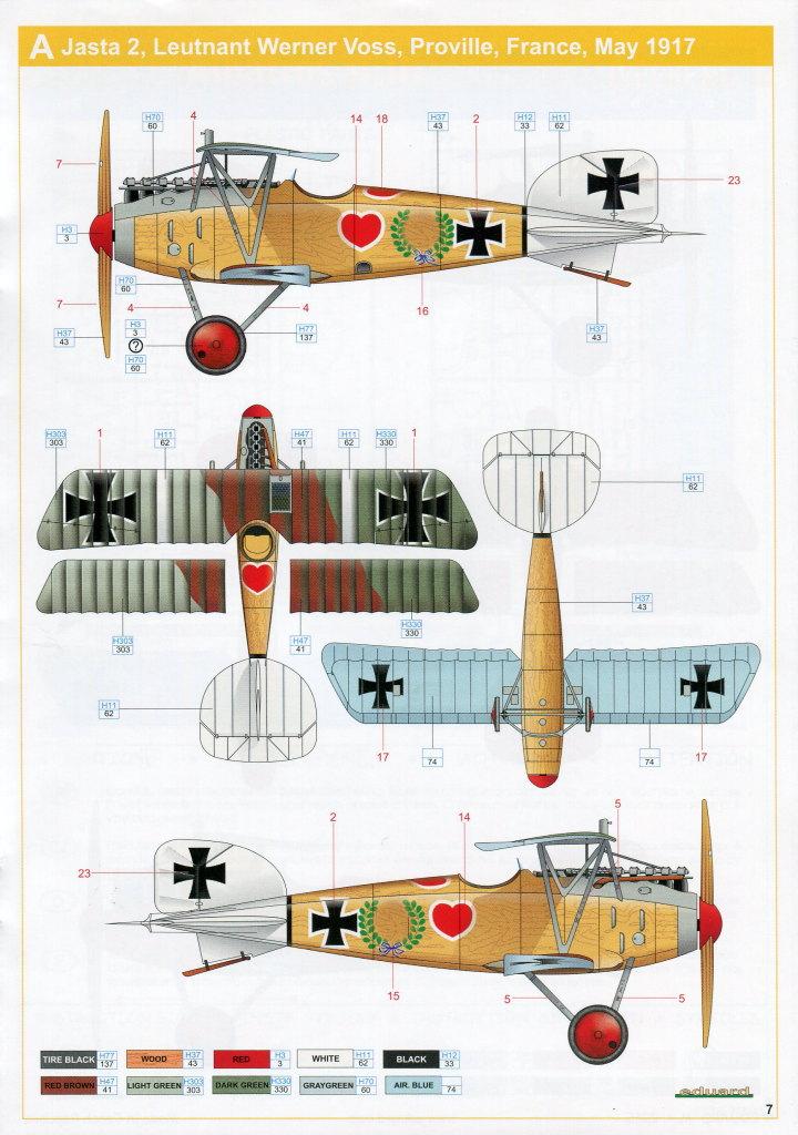 Eduard_Albatros_Weekend_2016_21 Albatros D.III und ZOOM PE-Set - 1/48 - Eduard Weekend Edition --- #8438 und #FE793