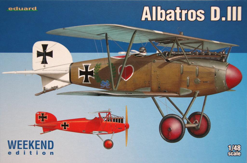 Eduard_Albatros_Weekend_2016_23 Albatros D.III und ZOOM PE-Set - 1/48 - Eduard Weekend Edition --- #8438 und #FE793