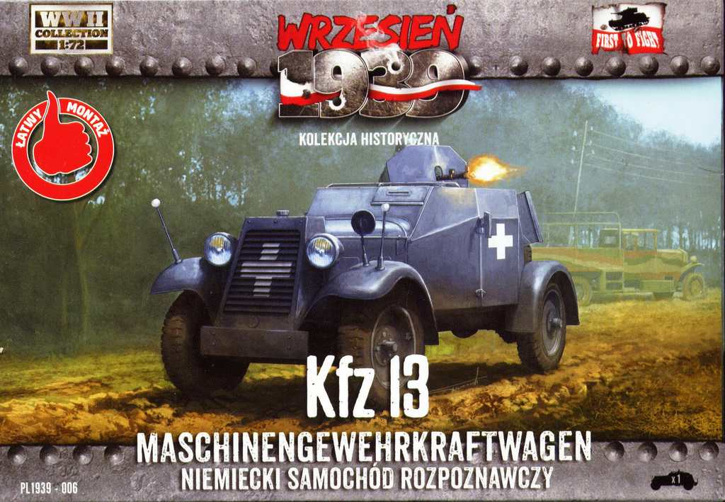 First-to-Fight-Sd.Kfz-13-Adler-10 Sd.Kfz. 13 Adler von First to fight im Maßstab 1:72
