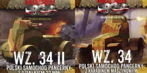 Polnischer Spähwagen wz.34 von First to Fight im Maßstab 1:72