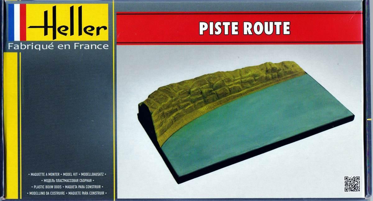 Heller-81251-Piste-Route-4 Dioramenplatten von Heller