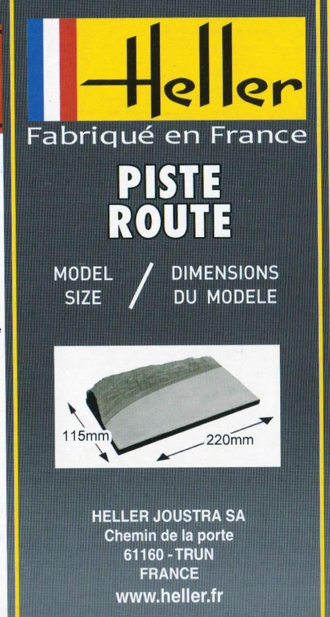 Heller-81251-Piste-Route-5 Dioramenplatten von Heller