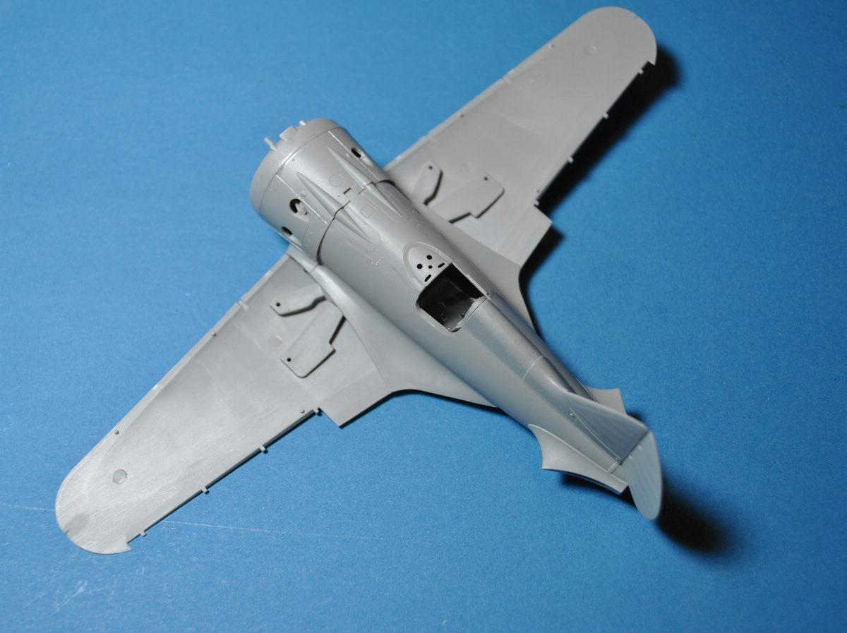 ICM-48097-Polikarpov-I-16-Typ-24-Baubericht Polikarpov I-16 Typ 24 in 1:48 von ICM (#48097)