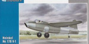 Heinkel He 178 V-1 von Special Hobby in 1:48