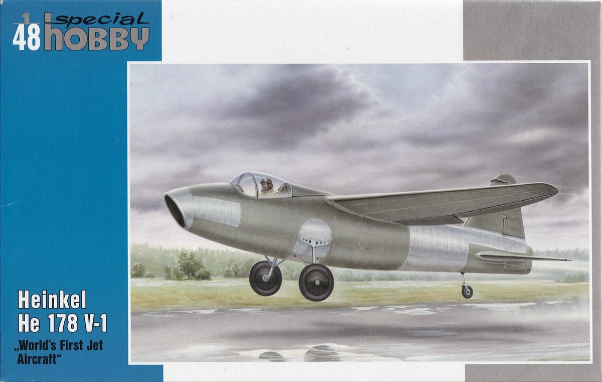 Special-Hobby-SH-48175-Heinekl-he-178-V-1-14 Heinkel He 178 V-1 von Special Hobby in 1:48