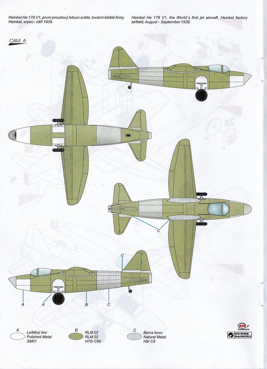 Special-Hobby-SH-48175-Heinekl-he-178-V-1-20 Heinkel He 178 V-1 von Special Hobby in 1:48