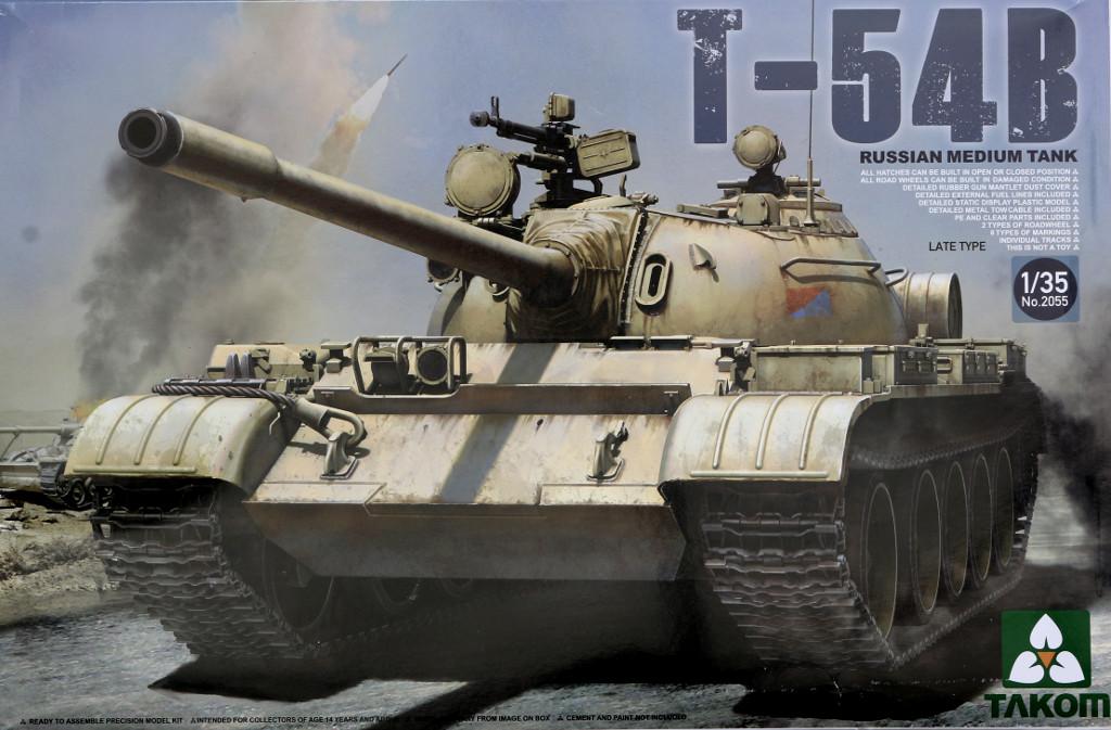 T-54B T-54B Russian Medium Tank Late Type Takom 2055 (1:35)
