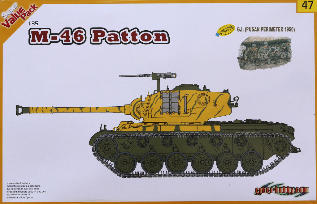 01 M46 Patton Cyber Hobby Super Value Pack 47 (1:35)