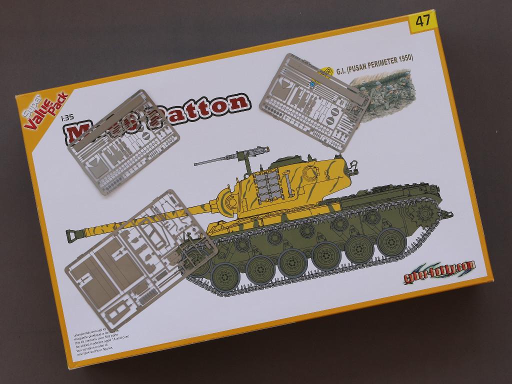 1-2 M46 Patton Eduard 35 254 (1:35)