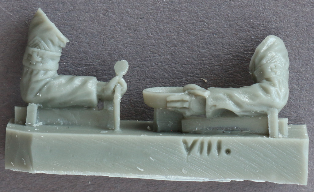 4-2 U.S. Soldiers, WWII Orderlies plus model 160 (1:35)