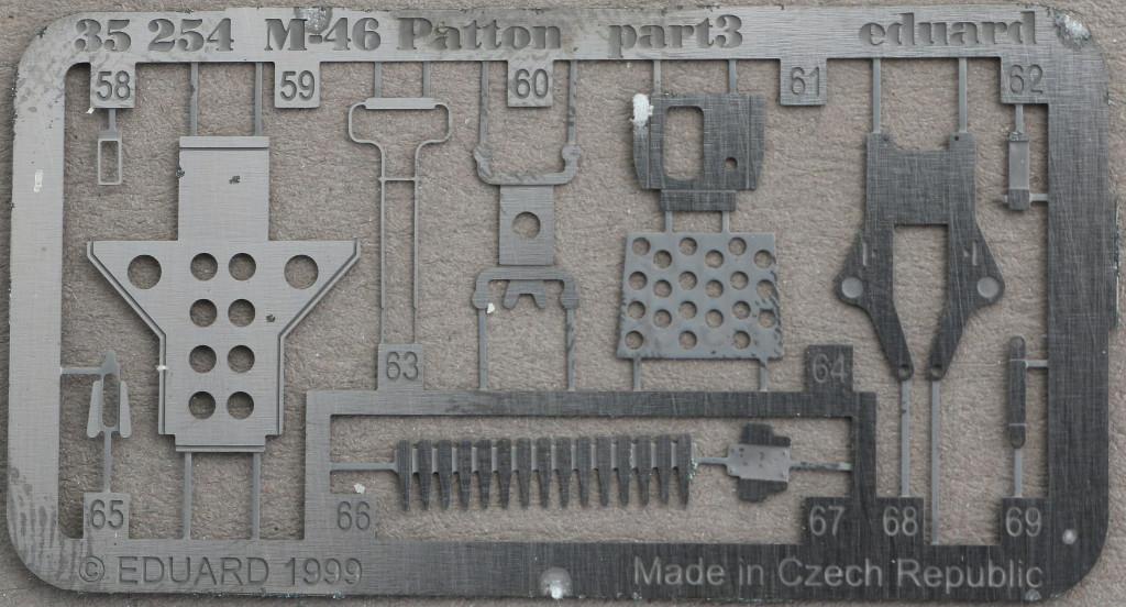 4-3 M46 Patton Eduard 35 254 (1:35)