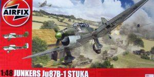 Junkers Ju 87B-1 von Airfix im Maßstab 1:48 (A07114)