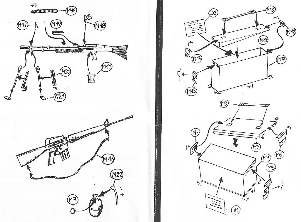 Anleitung-1 U.S. Weapons Vietnam plus model 316 (1:35)