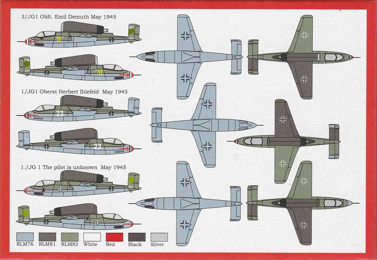 """Brengun-BRP-144003-He-162A-Salamander-1zu144-13 Heinkel He 162A """"Salamander"""" von Brengun (1:144) BRP 144003"""