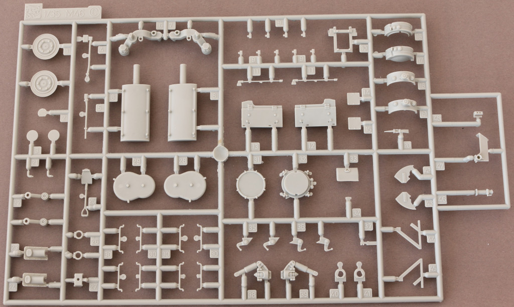 C M46 Patton Cyber Hobby Super Value Pack 47 (1:35)