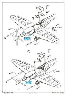 Eduard-2119-Spitfire-Mk.-VIII-Aussie-Eight-33-212x300 Eduard 2119 Spitfire Mk. VIII Aussie Eight (33)