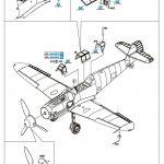 Eduard-84142-Bf-109-G-6-Erla-4-150x150 Messerschmitt Bf 109 G-6 Erla von Eduard ( 84142 )