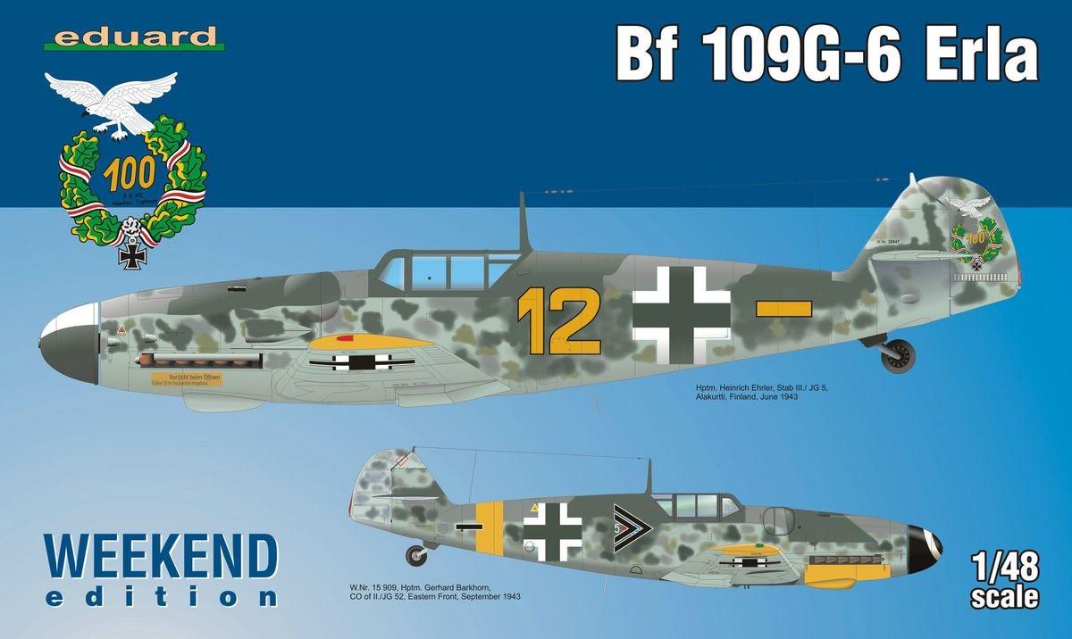 Eduard-84142-Bf-109-G-6-Erla-9 Messerschmitt Bf 109 G-6 Erla von Eduard ( 84142 )