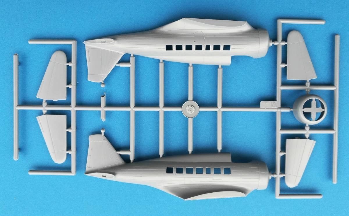 Frrom-Northrop-DElta-7 Northrop Delta von Frrom im Maßstab 1:72