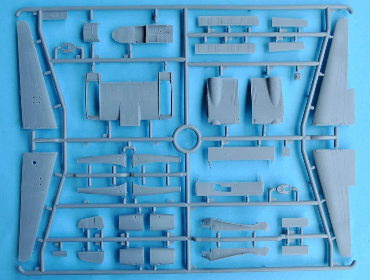 ICM-72291-Fw-189A-1-Uhu-12 Focke Wulf Fw 189 A-1 Uhu von ICM (1:72, # 72291 )