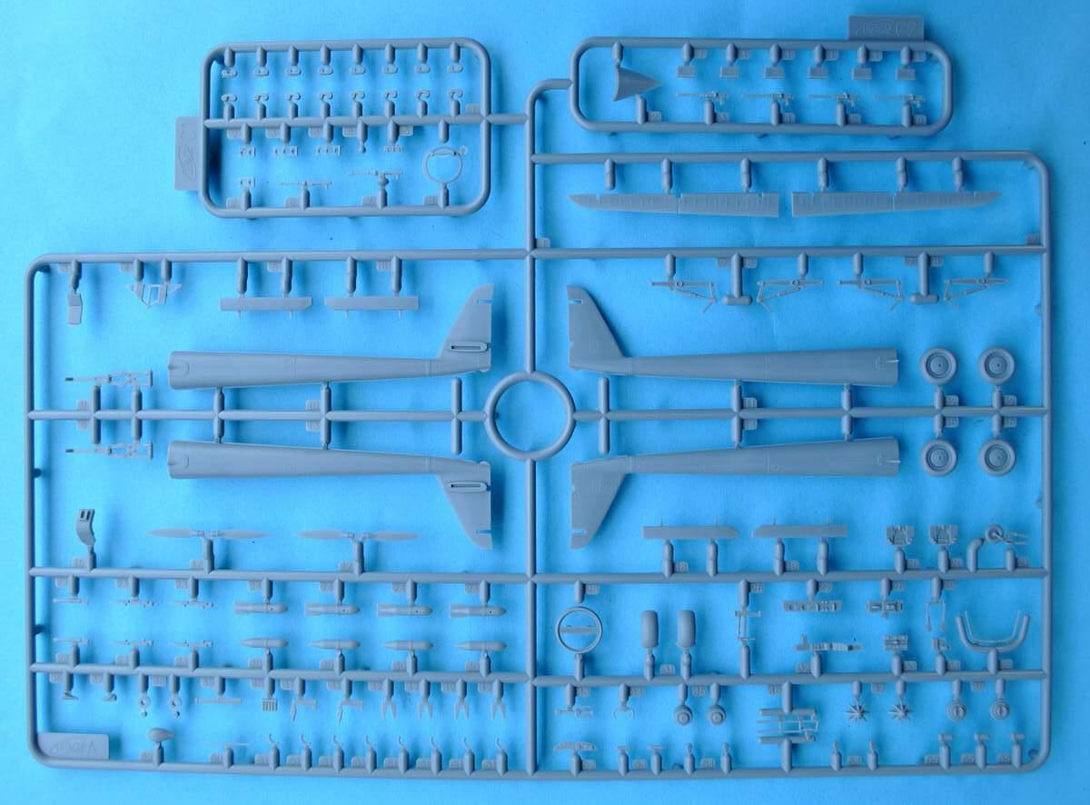 ICM-72291-Fw-189A-1-Uhu-24 Focke Wulf Fw 189 A-1 Uhu von ICM (1:72, # 72291 )