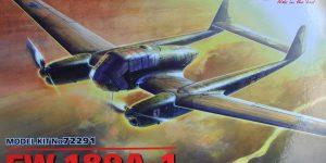 Focke Wulf Fw 189 A-1 Uhu von ICM (1:72, # 72291 )