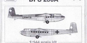 Lastensegler DFS 230 von JACH im Maßstab 1:144 (# 44103)