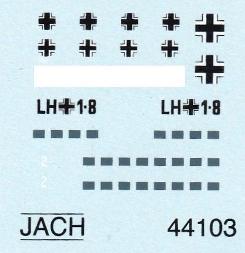 JACH-33103-DFS-230-1zu144-5 Lastensegler DFS 230 von JACH im Maßstab 1:144 (# 44103)